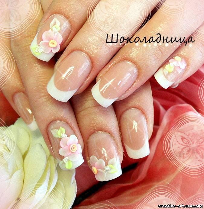 Фото нарощенных ногтей красивый дизайн ногтей